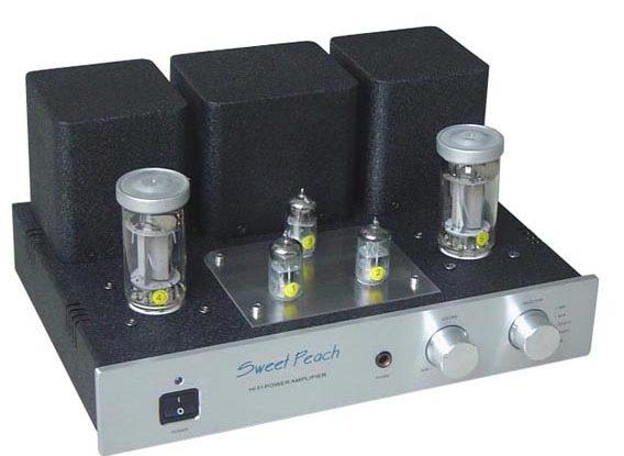 Ampli Đèn Sweet Peach Fu50 Single-Ended Class A [Tích Hợp DAC]