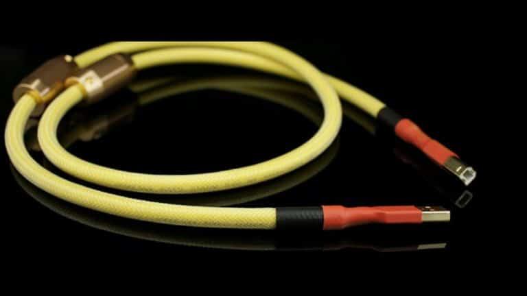 Cáp USB Aucharm 2 Đầu Type A-B Kết Nối Với DAC