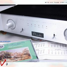 A.Audio 3 Bóng 12AX7 + 1 Bóng 6X4 [Preampli Đèn]
