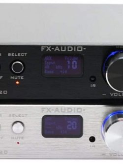 FX Audio D802 80W*2 192KHz AUX/Coaxial/Optical/USB/Bluetooth Class D + Điều Kiển Từ Xa