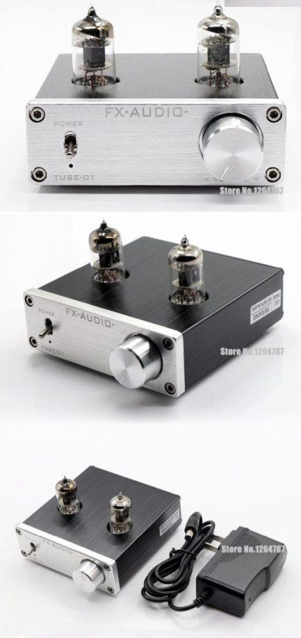 FX Audio TUBE-01 6J1 [Preampli Đèn]