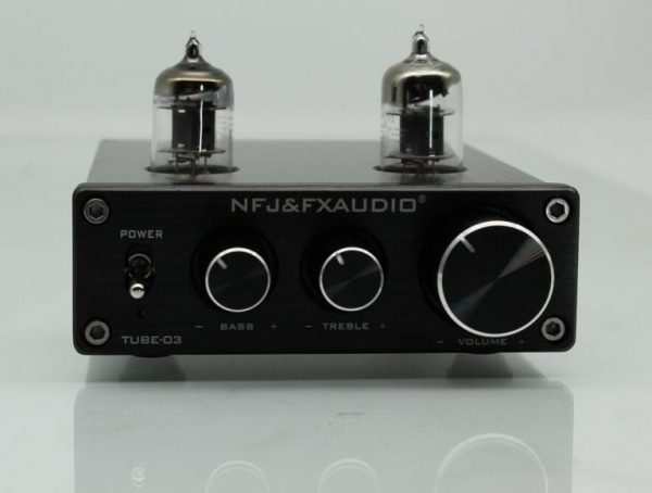 FX Audio TUBE-03 6J1 Preamplifier Đèn, Chỉnh Bass-Treble