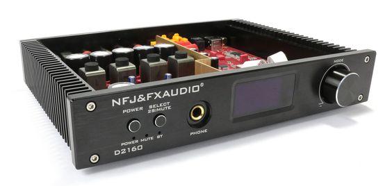 FX-AUDIO D2160 Amplifier Tích Hợp DAC, Bluetooth 4.2 Công Suất 125W x 125W