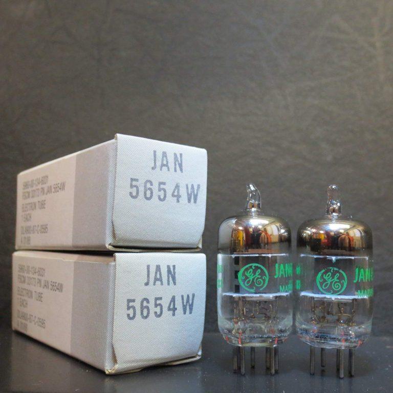 Bóng GE JAN 5654W nâng cấp tuyệt với cho bóng 6J1, 6AK5, EF95