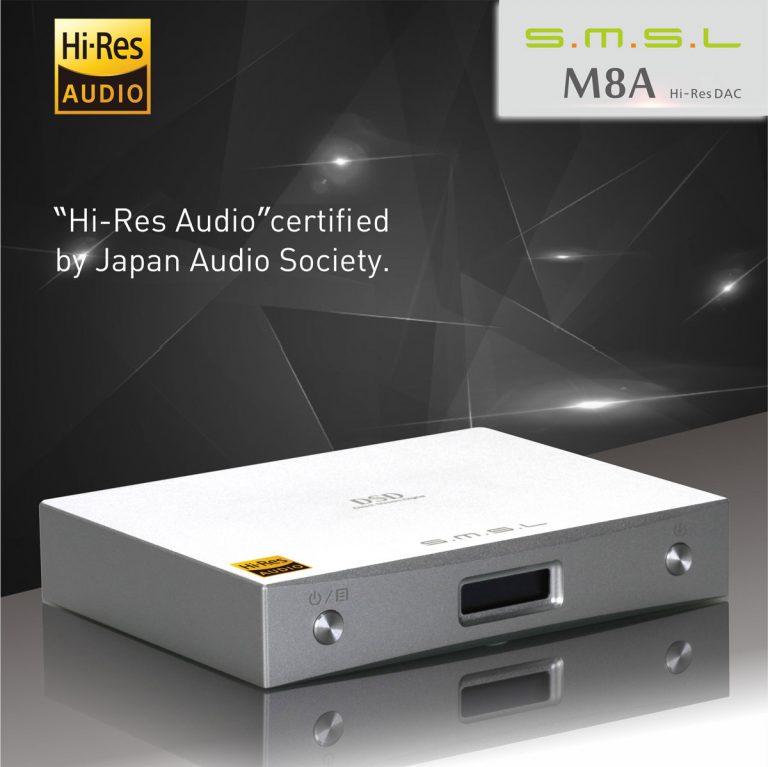 Giải mã âm thanh dac SMSL M8A Chip ES9028Q2M 32bit 768kHz DSD XMOS