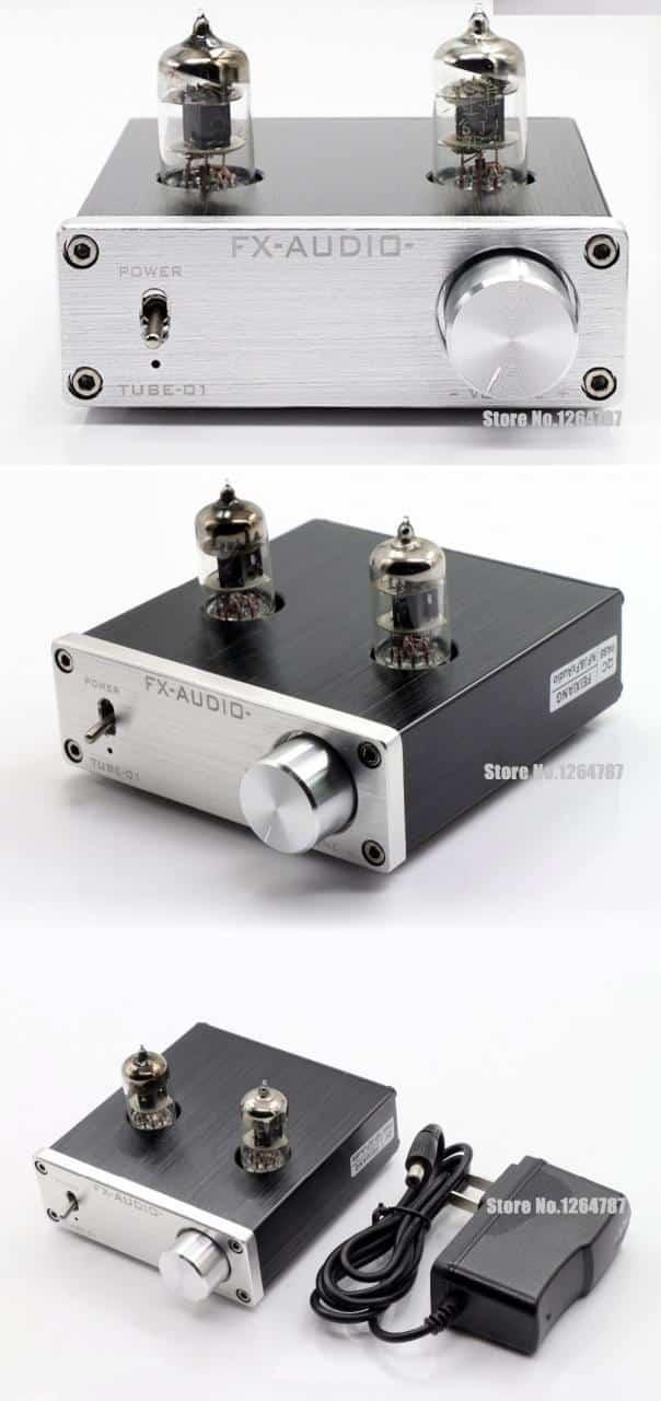 FX Audio TUBE 6J1 [Preampli Đèn] - Nâng Cấp Chất Lượng Âm Thanh