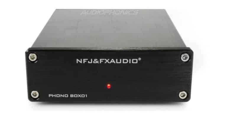 Preamp Phono Vinyl Player (MM) FX-AUDIO BOX01
