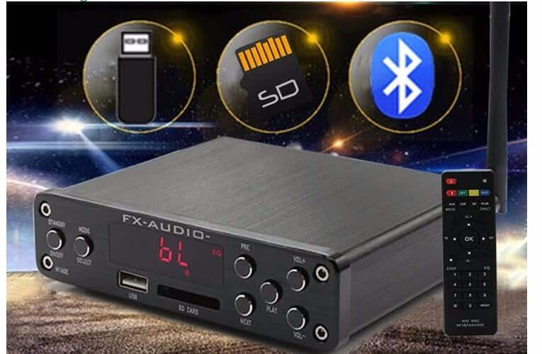 Amplifier Bluetooth 4.0 FX Audio M-160E Công Suất 160W + 160W