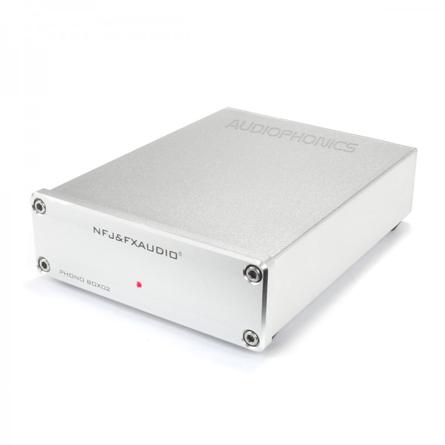 Phono MM/MC FX-AUDIO BOX02 Preamplifier