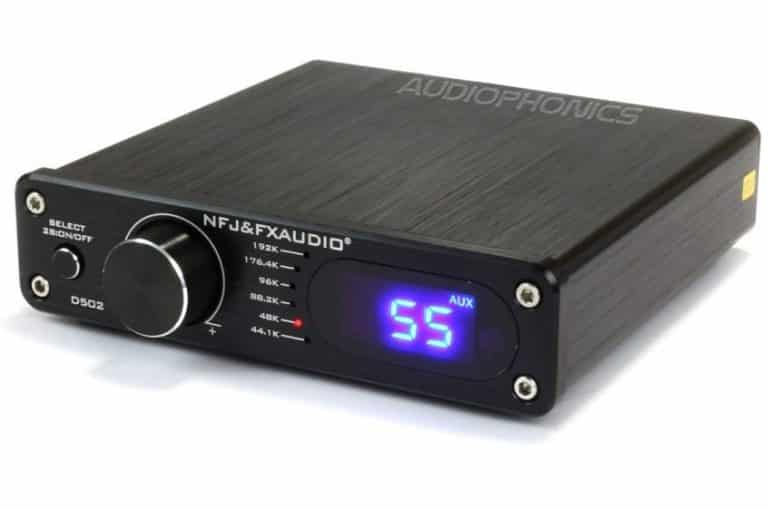 FX-AUDIO D502 Amplifier FDA 2.1 TAS5342 2x40W + Subwoofer