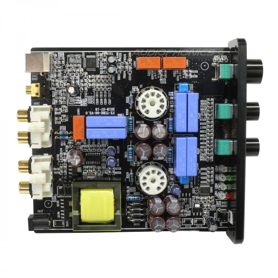 DAC FX-AUDIO TUBE-06 Tích Hợp Tube Preamplifier, Bóng 6N3 x 2