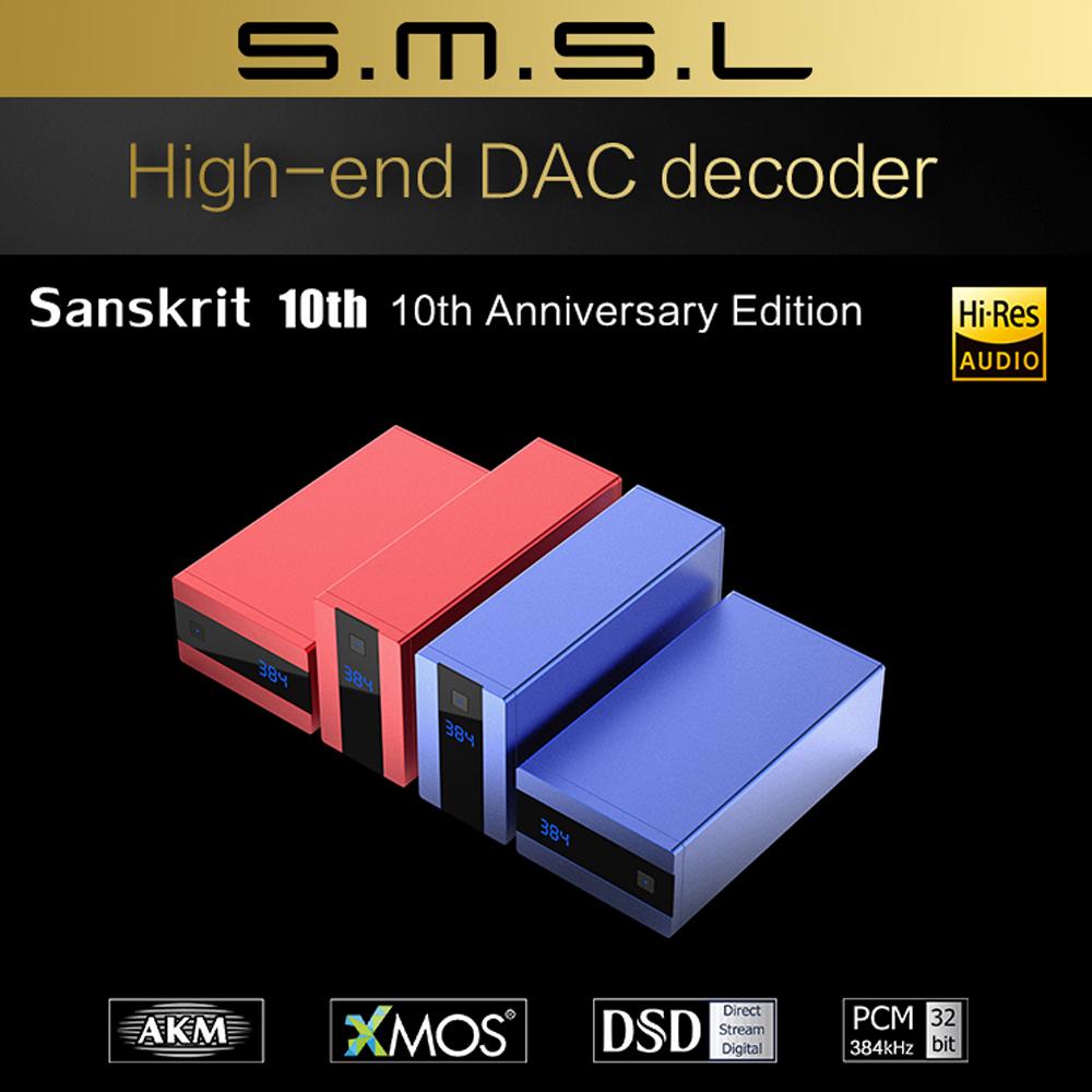 SMSL Sanskrit 10th MK II DAC AK449 [Nâng Cấp Từ Sanskrit 10th]