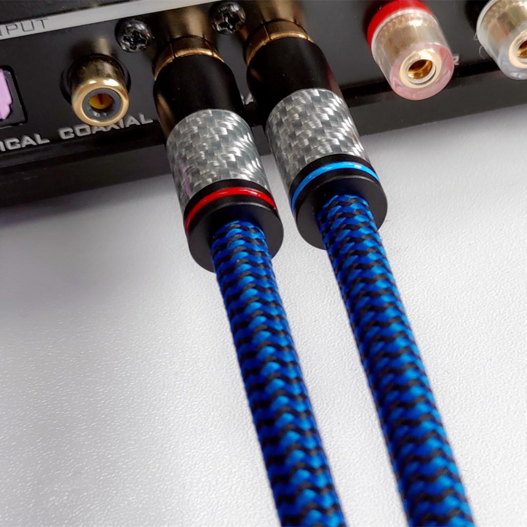 Dây tín hiệu âm thanh RCA ra RCA Summer audio đồng sợi carbon