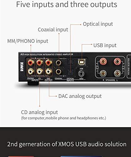 Ampli SMSL A8 ICEpower 125Wx2 Chip DAC AK4490 PCM 768khz DSD512