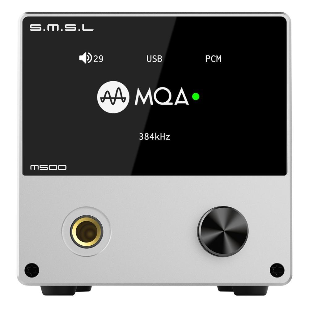 Dac Giải Mã SMSL M500 MQA ES9038PRO 32bit 768kHz DSD512