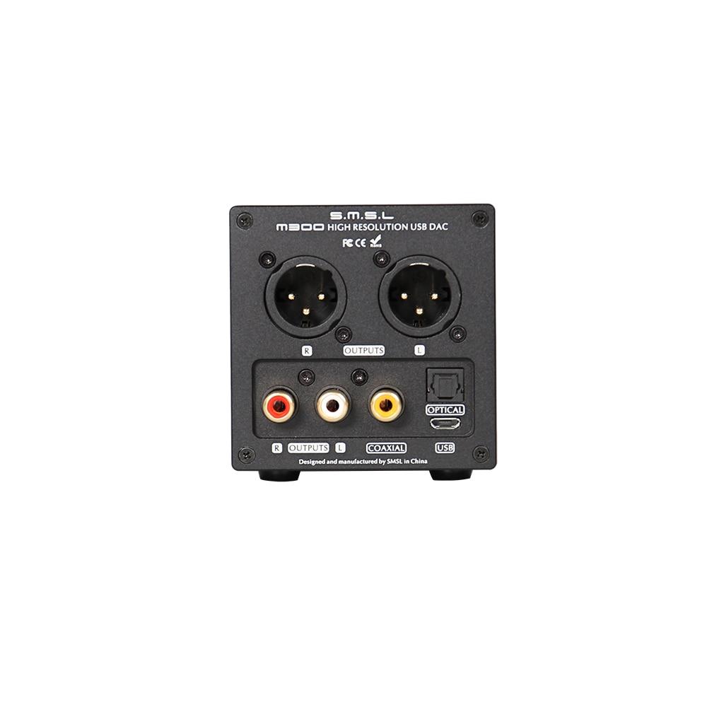 DAC Giải Mã SMSL M300 Audio DAC AK4497 DSD512 PCM768kHz