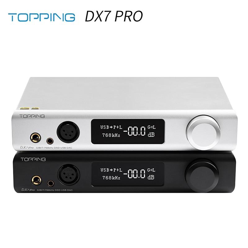 DAC Giải Mã TOPPING DX7 Pro ES9038Pro
