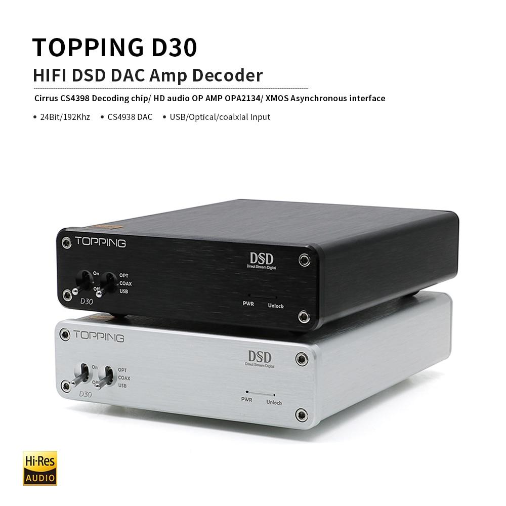 Giải Mã DAC TOPPING D30