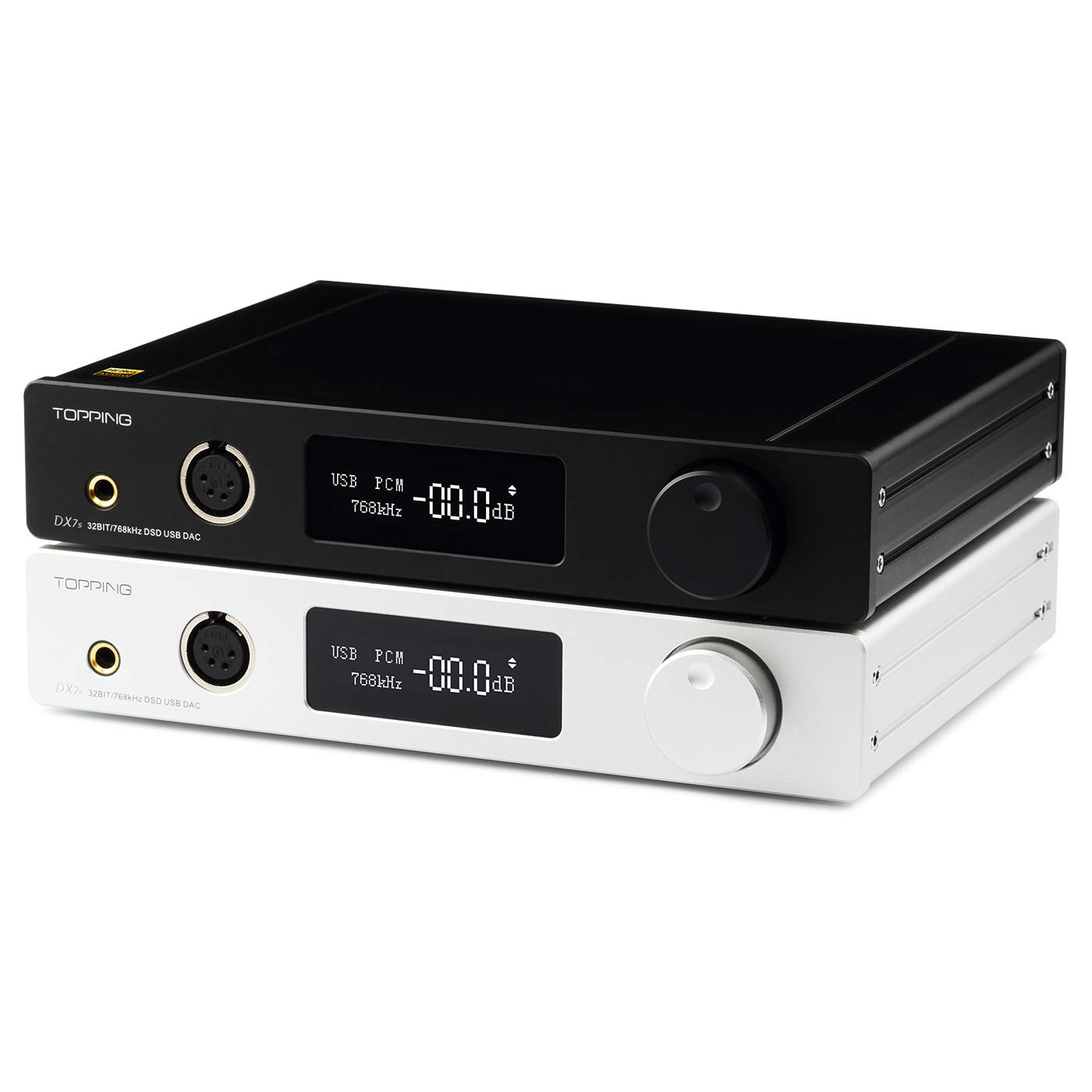 Topping DX7S 2*ES9038Q2M 32Bit/768K DSD512