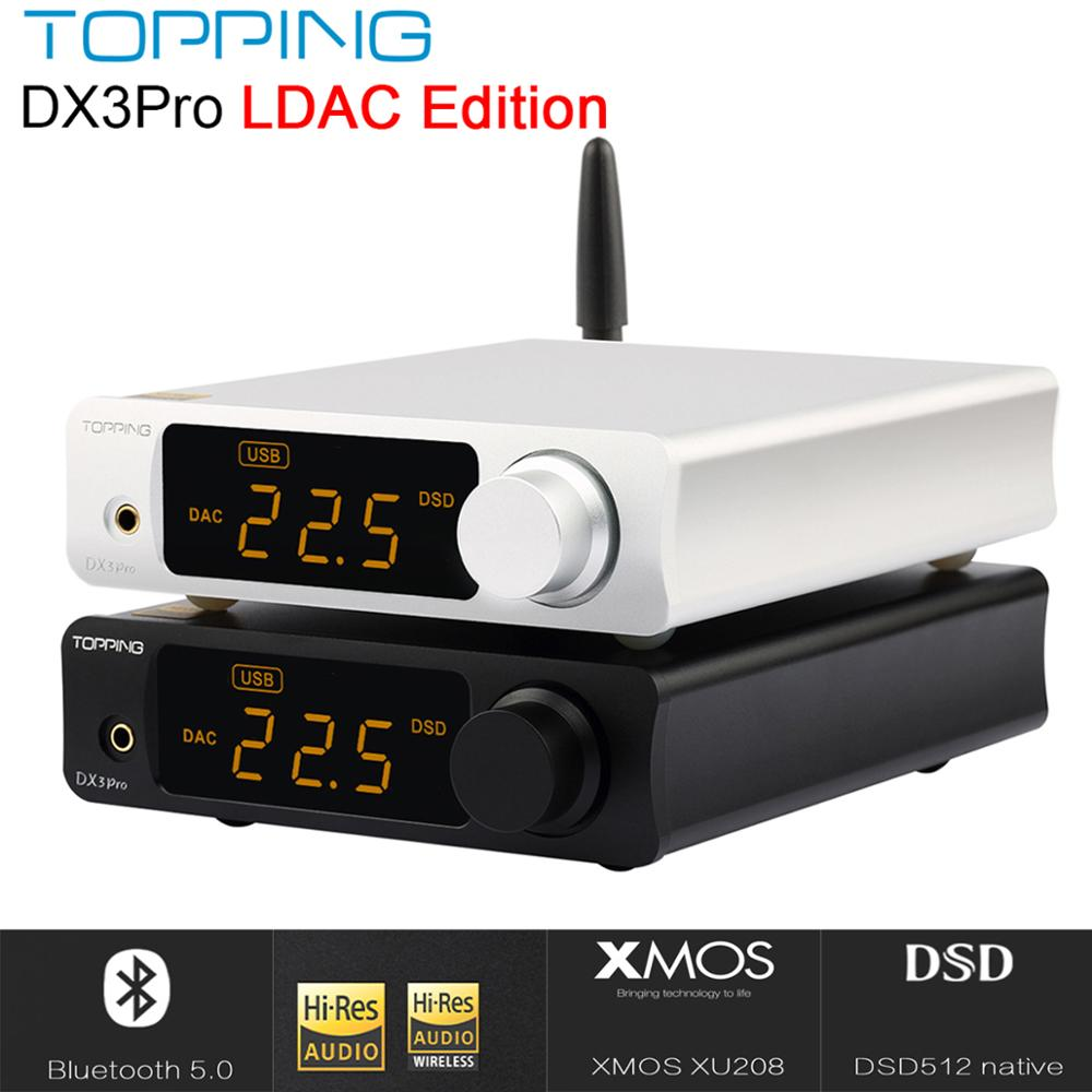TOPPING DX3 PRO Edition Bluetooth decoding AK4493 USB DAC XMOS