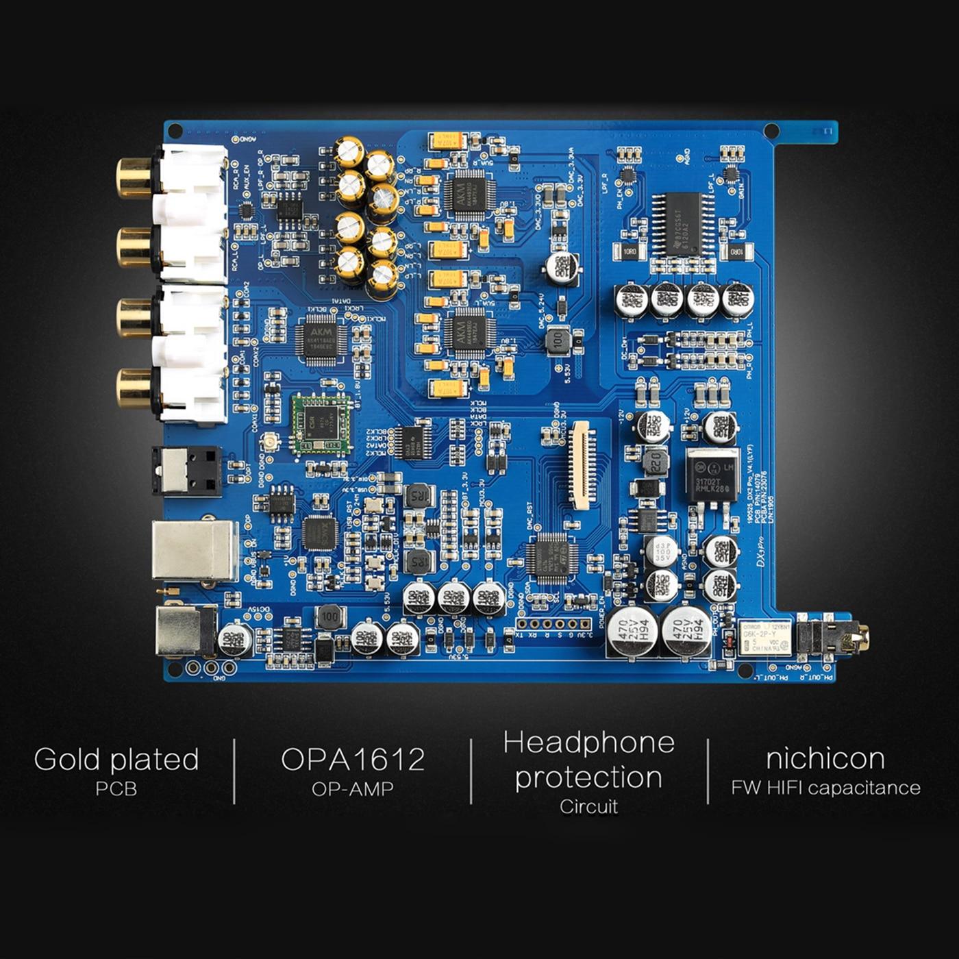 TOPPING DX3 PRO Edition Bluetooth decoding AK4493 USB DAC XMOS