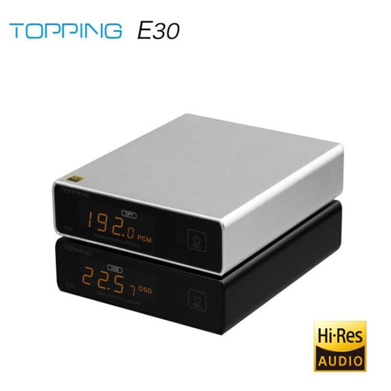 TOPPING E30 DAC AK4493 XU208 32bit/768k DSD512