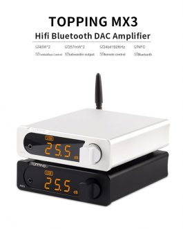 TOPPING MX3 USB DAC Audio Amplifier Hifi Bluetooth DAC Amp