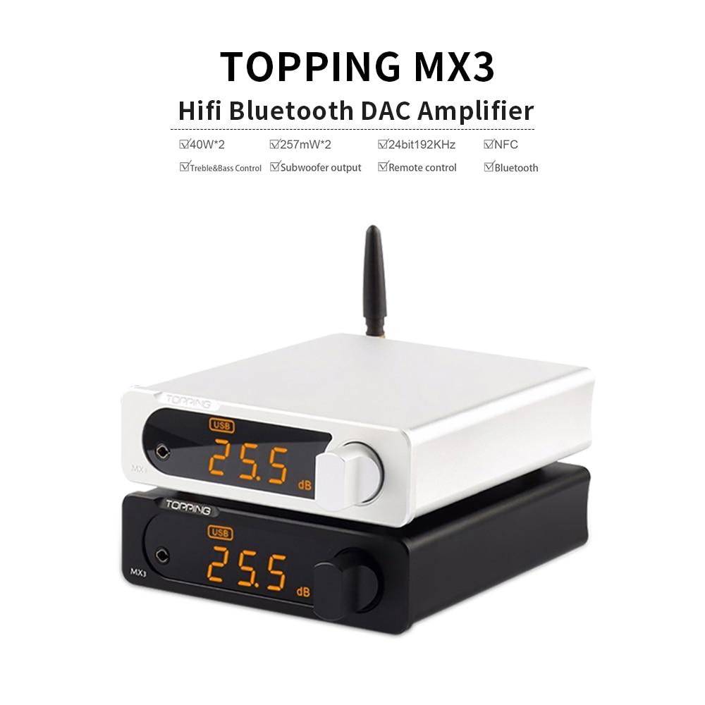 TOPPING MX3 USB DAC Audio Amplifier Hifi Bluetooth DAC Amp