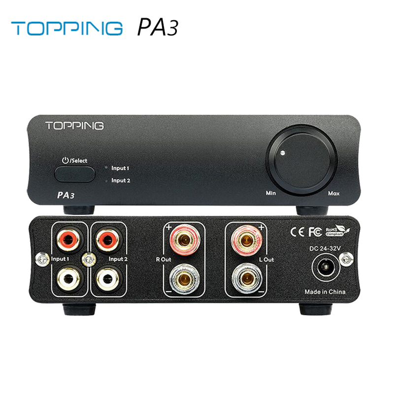 TOPPING PA3 Desktop HiFi Digital Amplifier