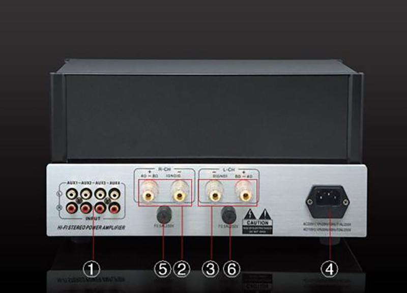 YAQIN MC-6P1P Vacuum Tube Hi-end Integrated Amplifie