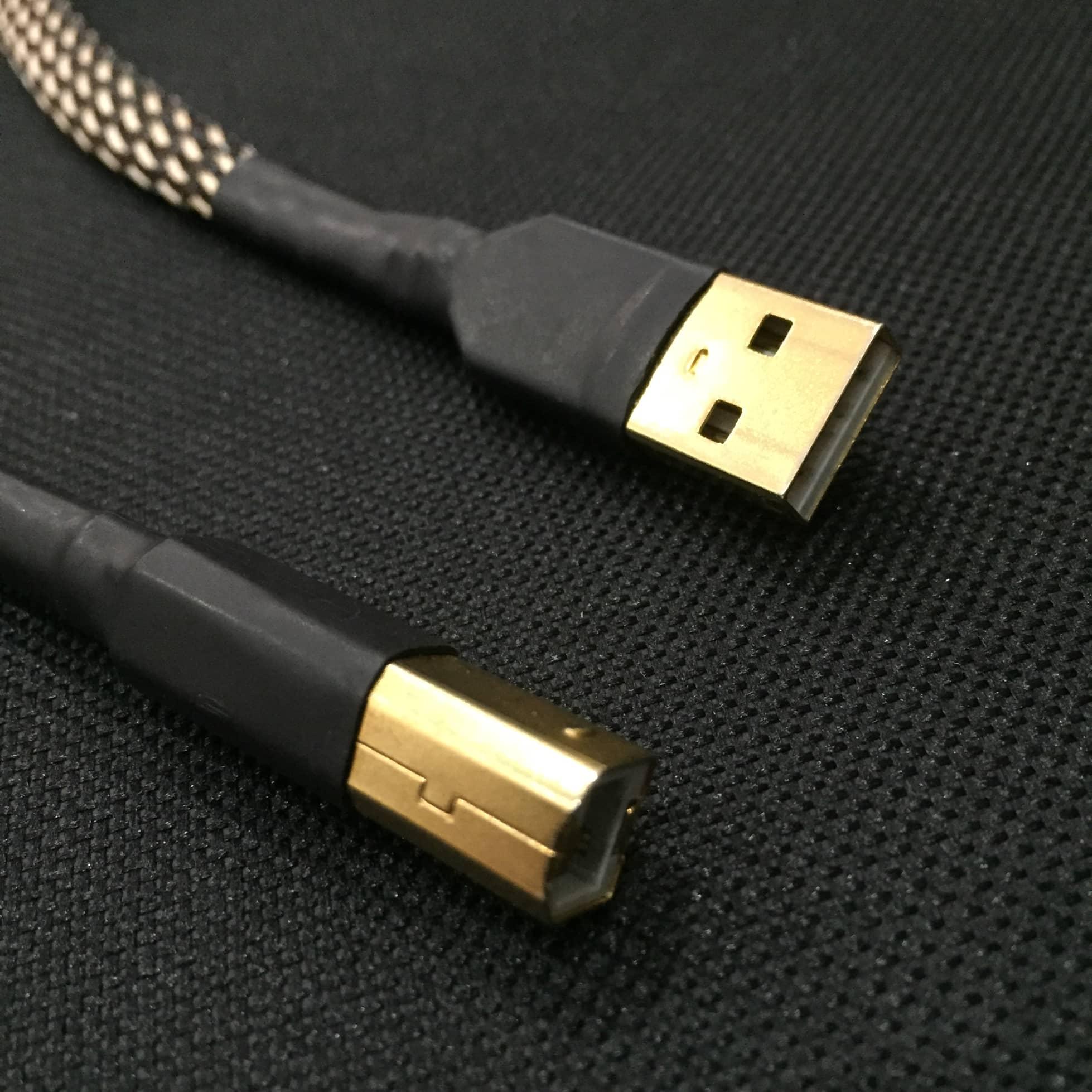 Dây USB Đầu A/B Kết Nối Với DAC